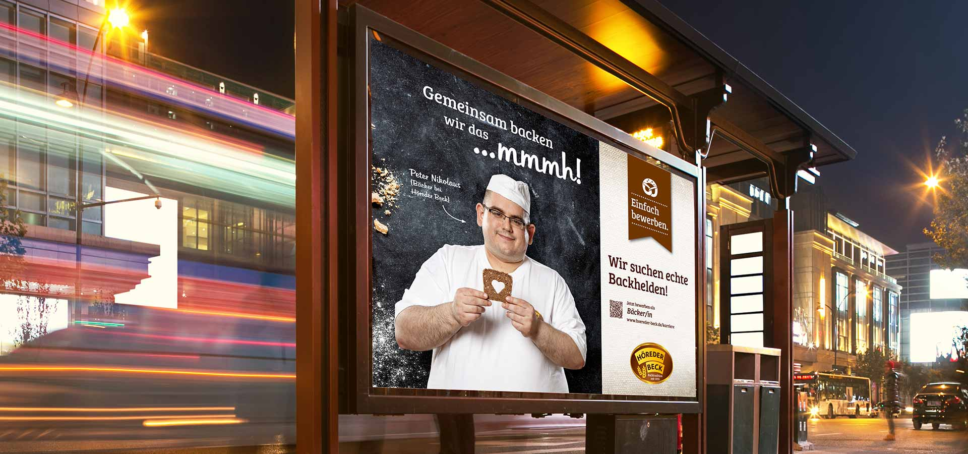 OPUS Marketing / Holzhandel / Arbeitgebermarke / Großfläche Plakat