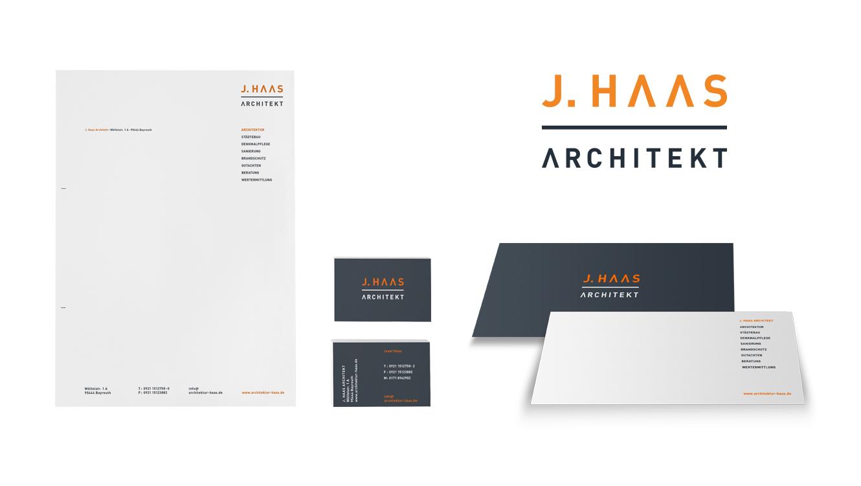 OPUS Marketing / Immobilienmarketing / Marke / J.Haas Architekt
