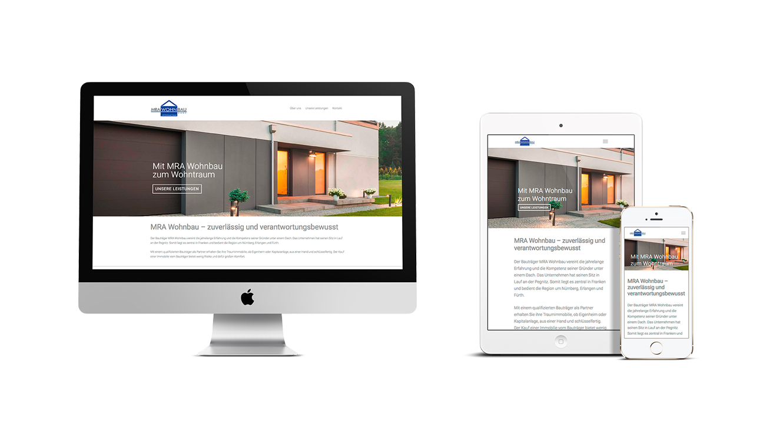 OPUS Marketing / Immobilienmarketing / Marke / MRA Wohnbau