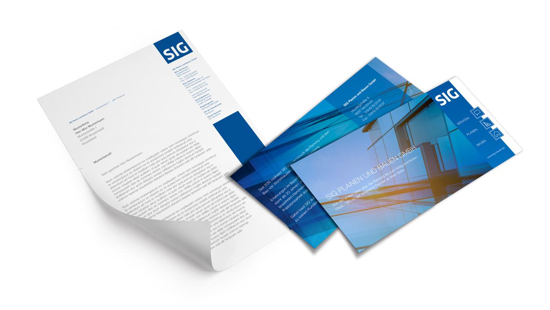 OPUS Marketing / Immobilienmarketing / Marke / SIG Bauen