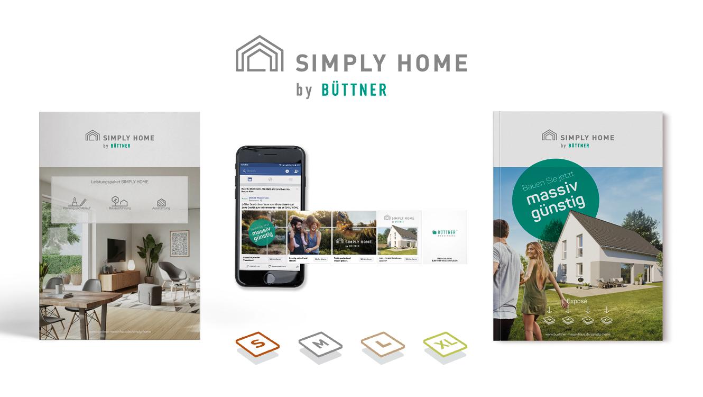 OPUS Marketing / Immobilienmarketing / Marke / SIMPLY HOME by Büttner