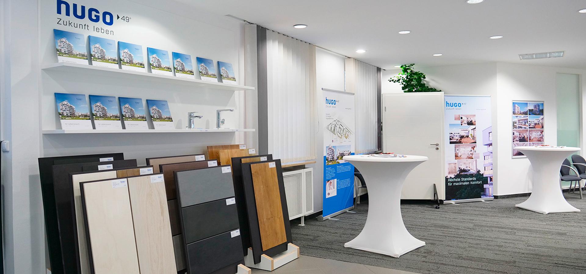OPUS Marketing / Immobilienmarketing / Showroom hugo49