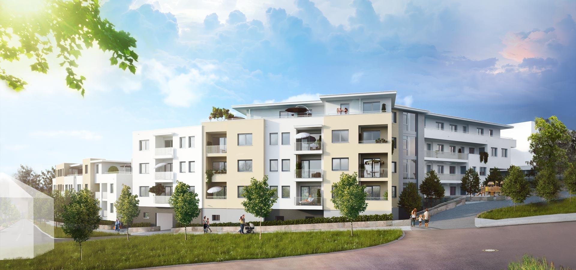 OPUS Marketing / Immobilienmarketing / Visualisierung, außen