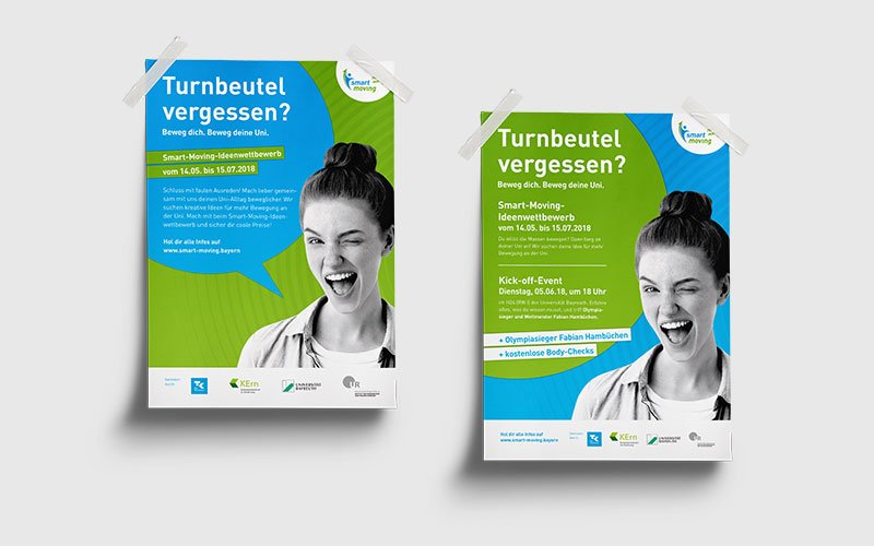 OPUS Marketing / Blog / Smart Moving / Kommunikationskonzept / Plakate