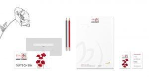 OPUS Marketing / Projekte / 1A Blumen / Geschäftsausstattung