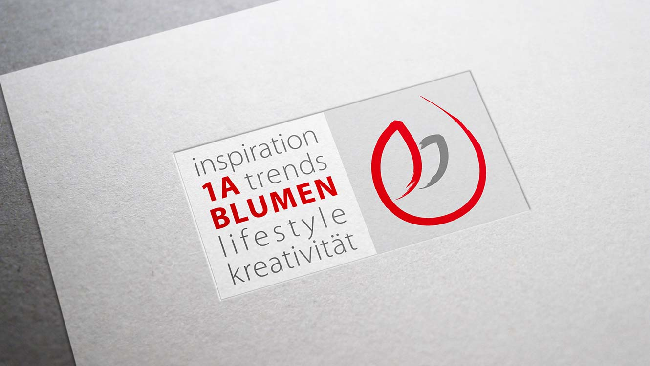 OPUS Marketing / Projekte / 1A Blumen / Logo