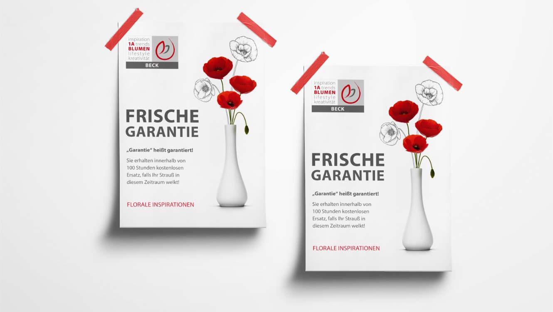 OPUS Marketing / Projekte / 1A Blumen / Plakat