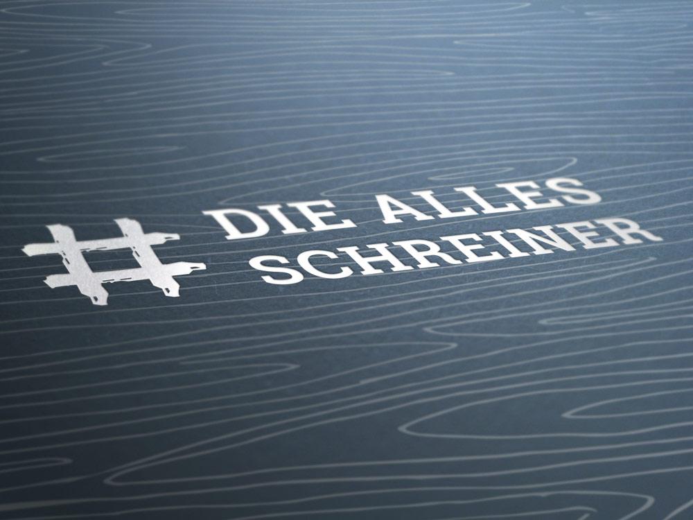 OPUS Marketing / Projekte / Holzland Bunzel / #dieallesschreiner / Logo