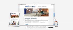 OPUS Marketing / Projekte / Maxit / Microsite / Innovationsprodukt