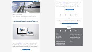 OPUS Marketing / Projekte / Maxit / Newsletter