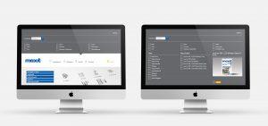 OPUS Marketing / Projekte / Maxit / Website / Produktfinder