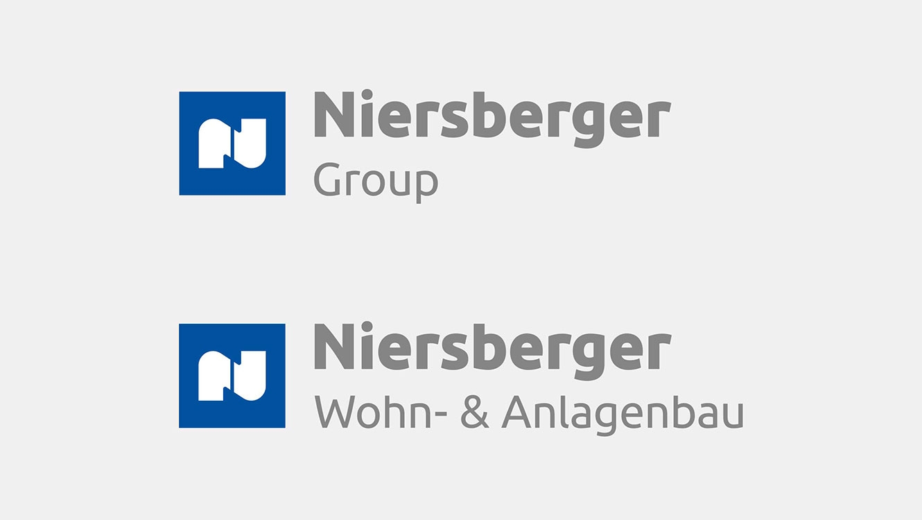 OPUS Marketing / Projekte / Niersberger Group / Group Logos