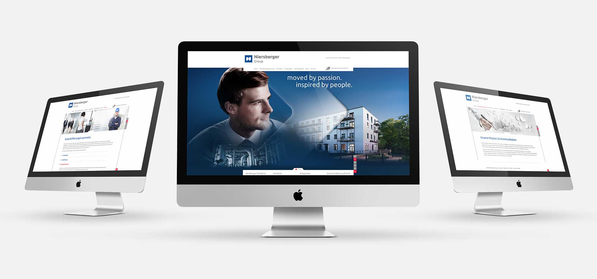 OPUS Marketing / Projekte / Niersberger Group / Responsive Website