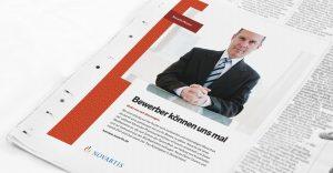 OPUS Marketing / Projekte / Novartis Deutschland / Anzeige