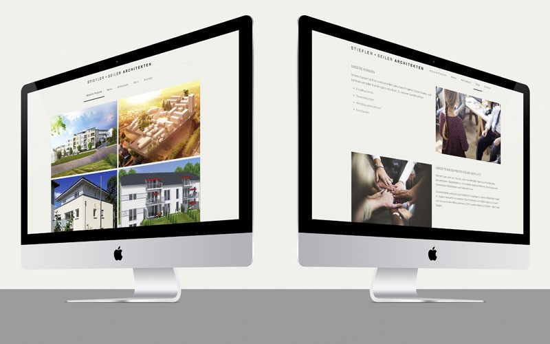 OPUS Marketing / Blog / Stiefler + Seiler / Website im Responsive Webdesign / Projekte