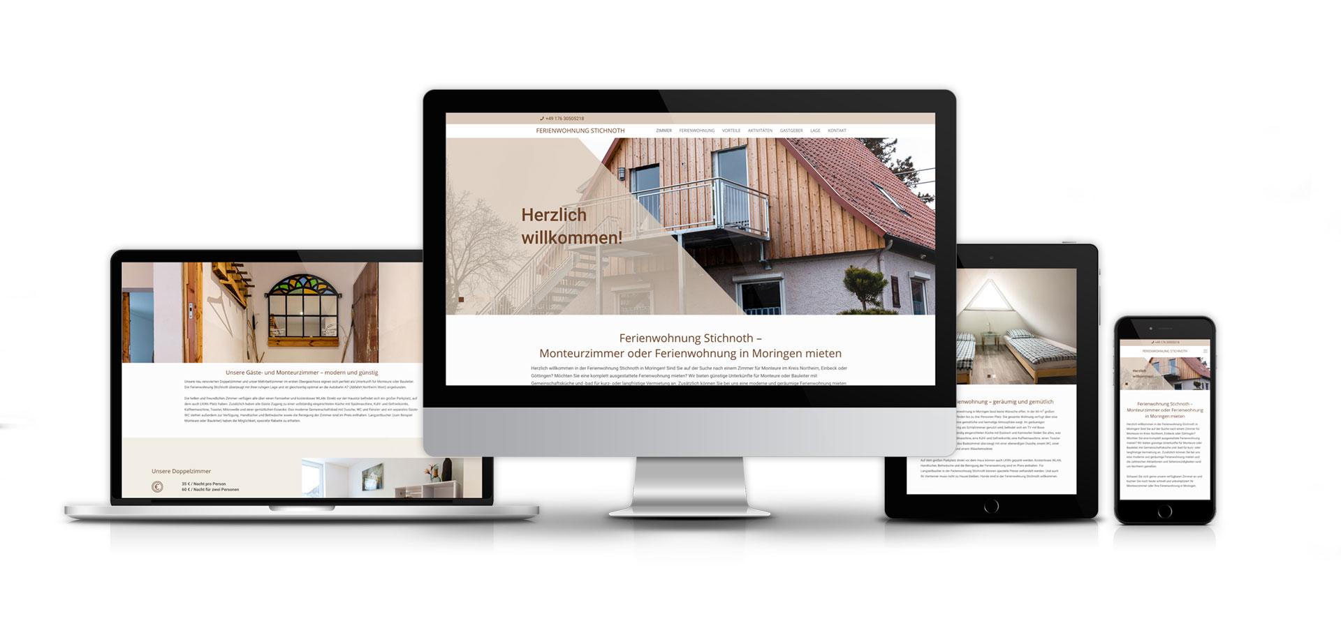 OPUS Marketing / Hotelmarketing / Website