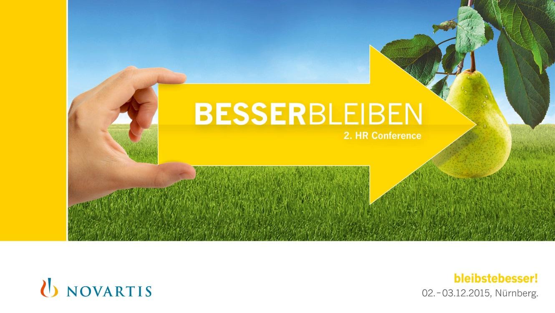 OPUS Marketing / Leistungen / Event / Eventdurchführung / Novartis / HR-Conference / 1