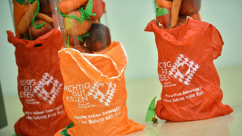 OPUS Marketing / Projekte / Ernährung / Bayerische Ernährungstage / Erlebnistag Giveaways