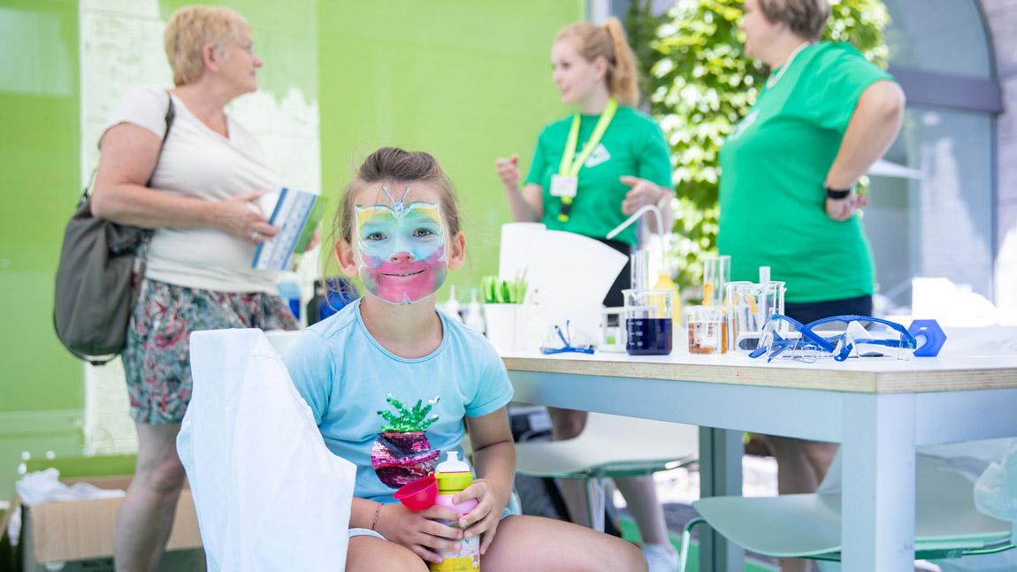 OPUS Marketing / Projekte / Ernährung / Bayerische Ernährungstage / Erlebnistag Schminken