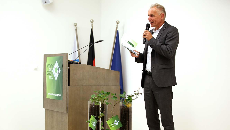 OPUS Marketing / Projekte / Ernährung / Bayerische Ernährungstage / Fachsymposium / Rede
