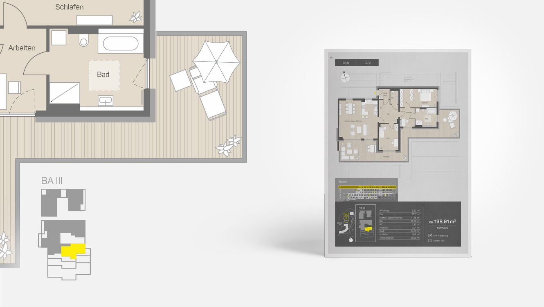 OPUS Marketing / Projekte / CO STBAR / Grundriss