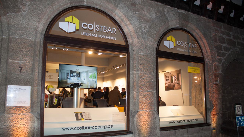 OPUS Marketing / Projekte / CO STBAR / Showroom / Eventeröffnung