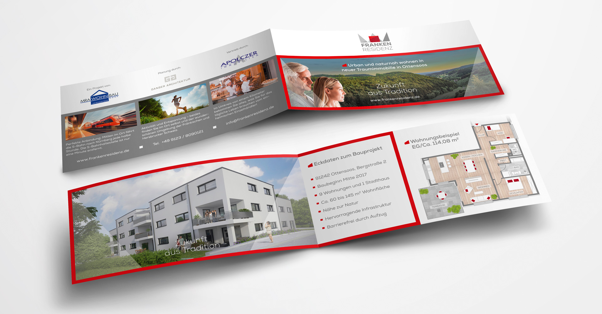 OPUS Marketing / Projekte / Frankenresidenz / Print / Flyer