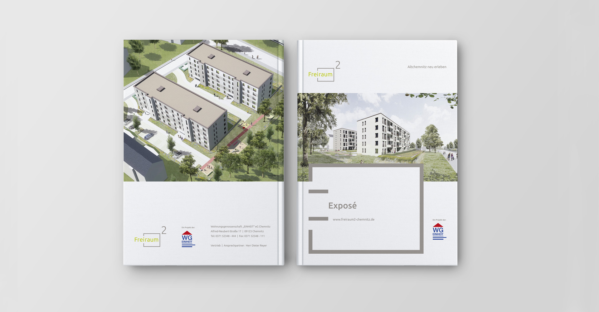 OPUS Marketing / Projekte / Freiraum² / Exposé