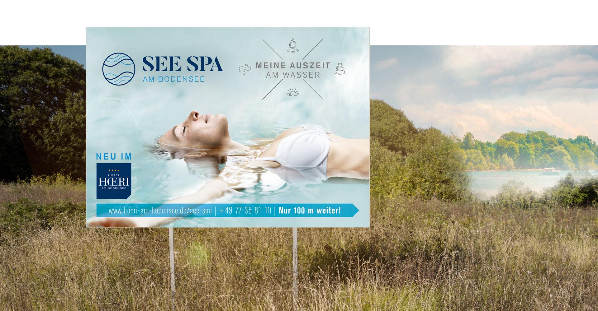 OPUS Marketing / Projekte / Hotel Hoeri am Bodensee / Großflächenwerbung / Plakat