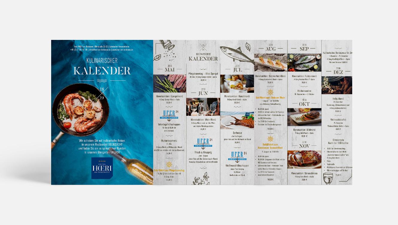 OPUS Marketing / Projekte / Hotel Hoeri am Bodensee / Print / Weitere Produkte / Kulinarischer Kalender