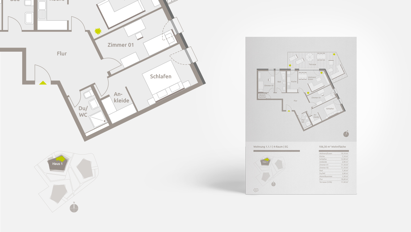 OPUS Marketing / Projekte / Panorama³ / Grundriss