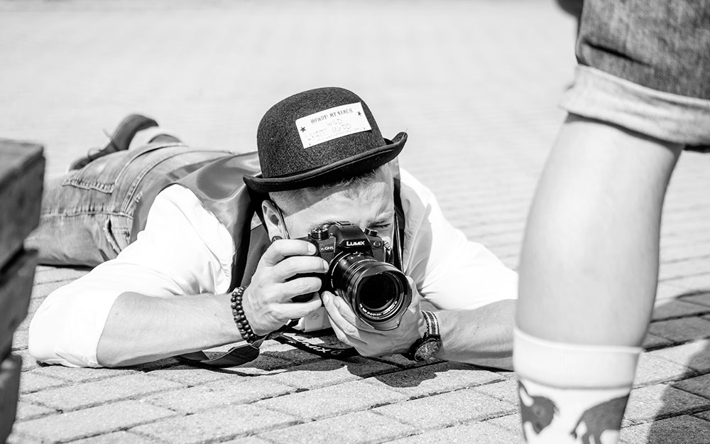 OPUS Marketing / Blog / Ausbildung zum Mediengestalter / Luis Fuhrmann / Fotograf auf dem Sommerfest