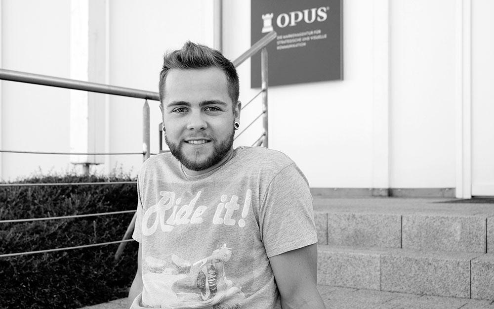 OPUS Marketing / Blog / Ausbildung zum Mediengestalter / Luis Fuhrmann