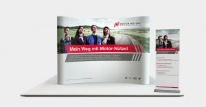OPUS Marketing / Projekte / Motor Nützel / Mobiler Messestand