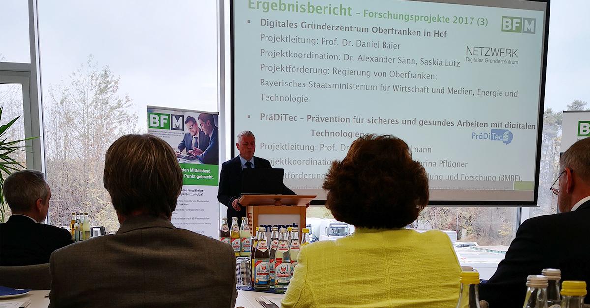 OPUS Marketing / Blog / BF/M Mitgliederversammlung / Franken Maxit / Unternehmensnachfolge