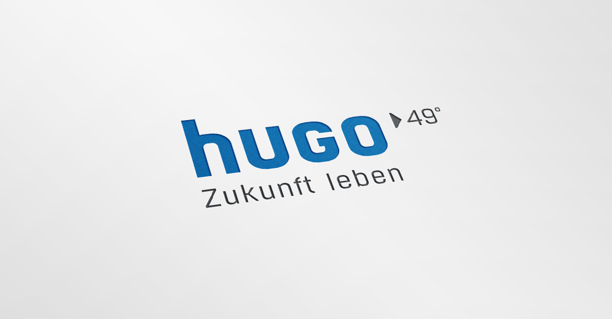 OPUS Marketing / Blog / Immobilienmarketing / hugo49 / Logo / Claim