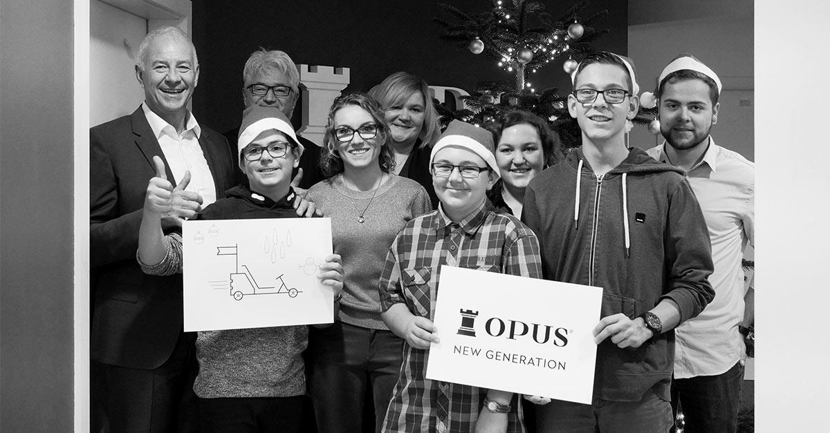 OPUS Marketing / Blog / Spendenübergabe / Weihnachtsspende / Heilpädagogisches Zentrum Bayreuth / HPZ