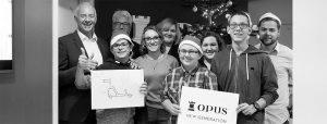 OPUS Marketing / Blog / Spendenübergabe / Weihnachtsspende / Heilpädagogisches Zentrum Bayreuth / HPZ / Teaser