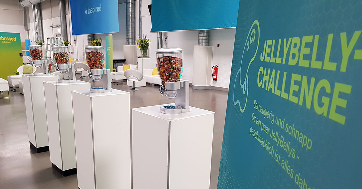 OPUS Marketing / Blog / Novartis Leaderforum / Eventkonzept / Jellybelly-Challenge