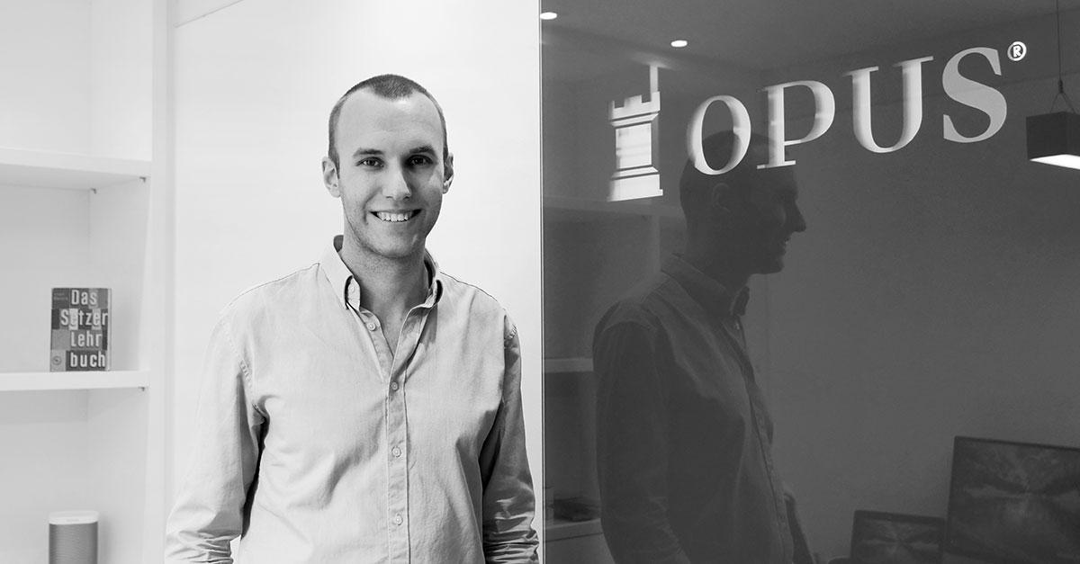 OPUS Marketing / Blog / neuer Kollege / Maximilian Kohler / Projektleitung