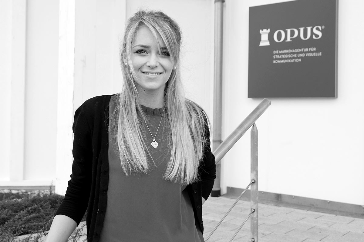 OPUS Marketing/ Blog / Neue Kollegin / Theresa Hofmann / Trainee Kreation
