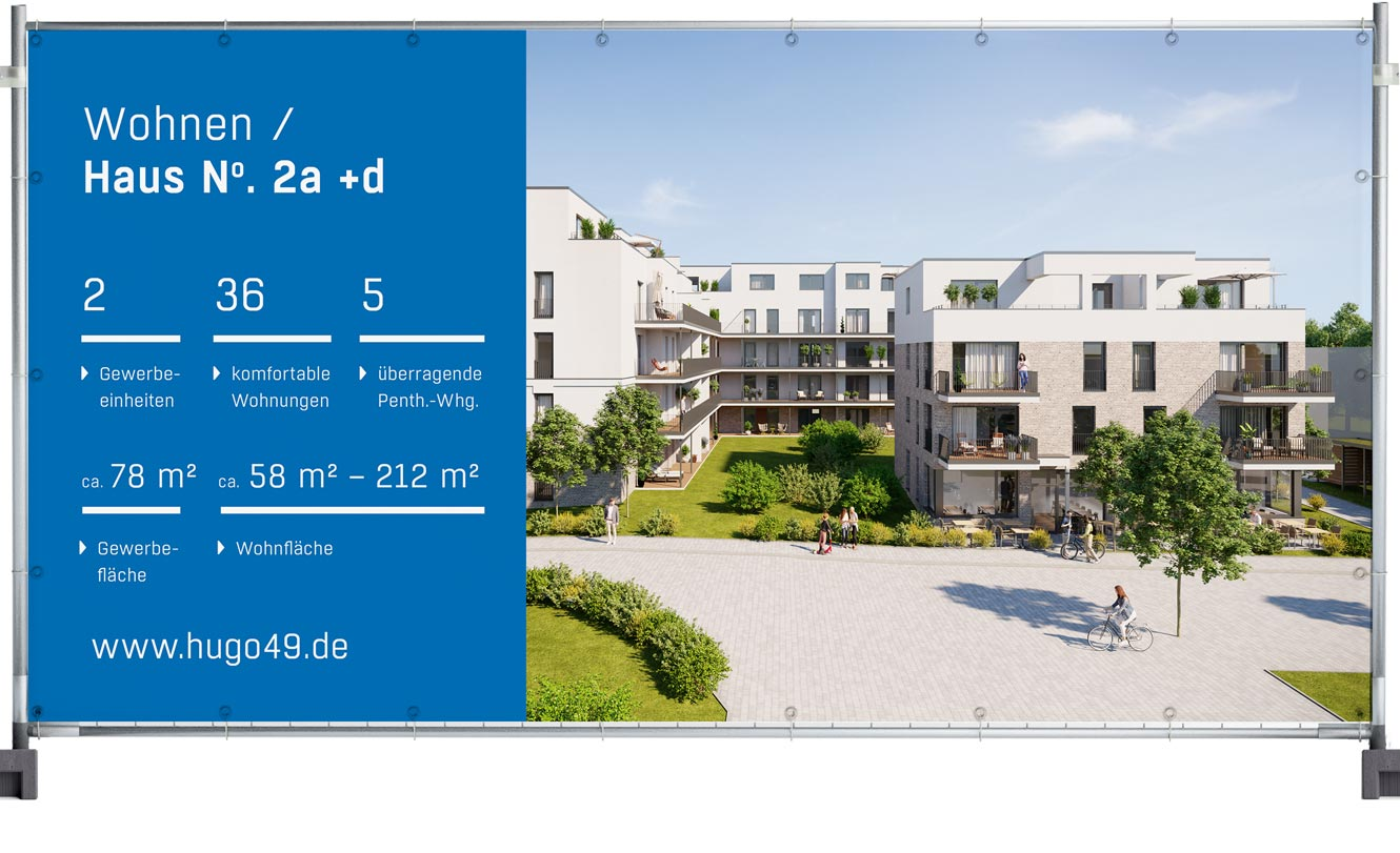 OPUS Marketing / Immobilienmarketing / hugo49 Bayreuth