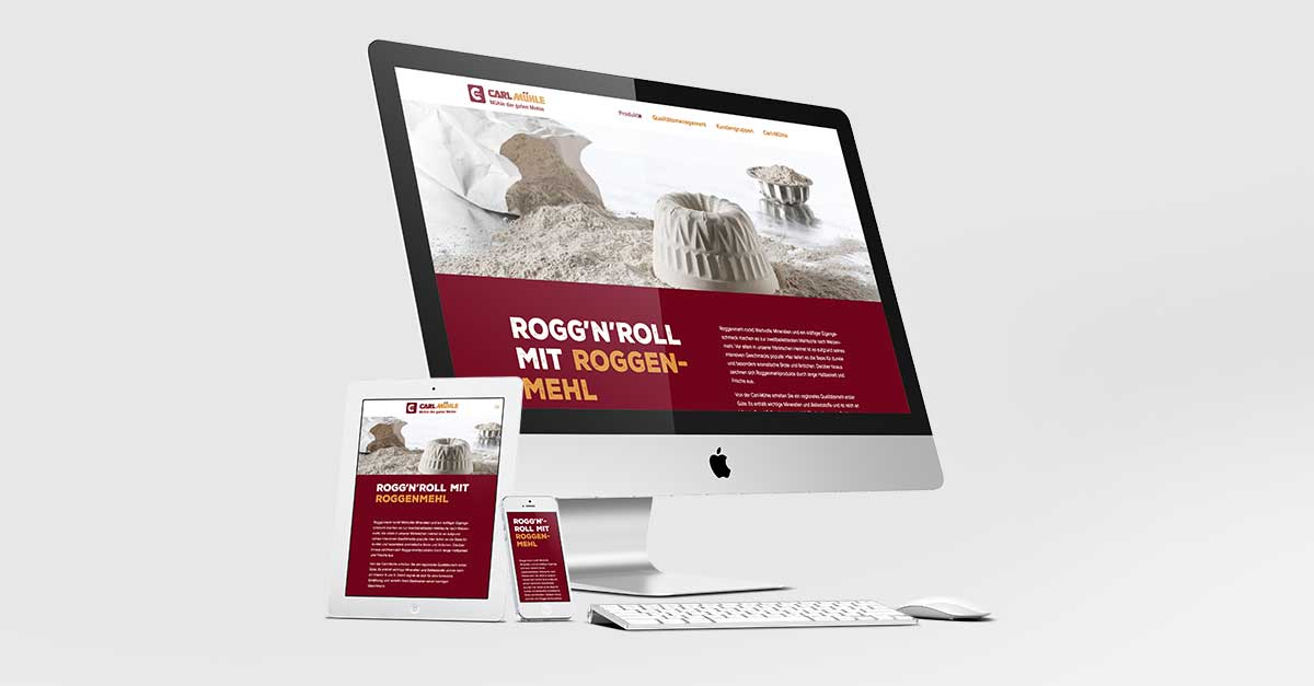 OPUS Marketing / Blog / Carl-Mühle / Website
