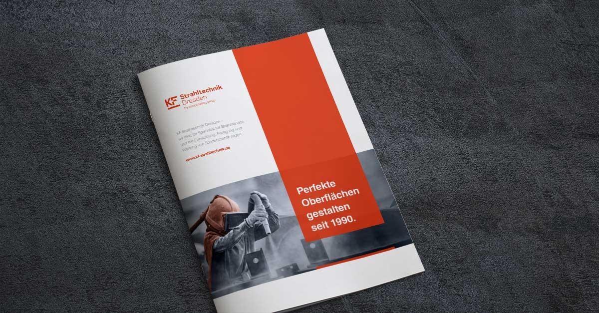 OPUS Marketing / Blog / KF Strahltechnik Dresden / Geschäftsausstattung