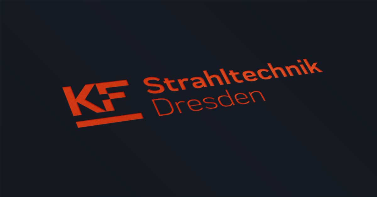 OPUS Marketing / Blog / KF Strahltechnik Dresden / neues Logo