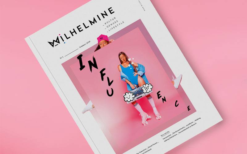 OPUS Marketing / Blog / Wilhelmine Magazin / Cover