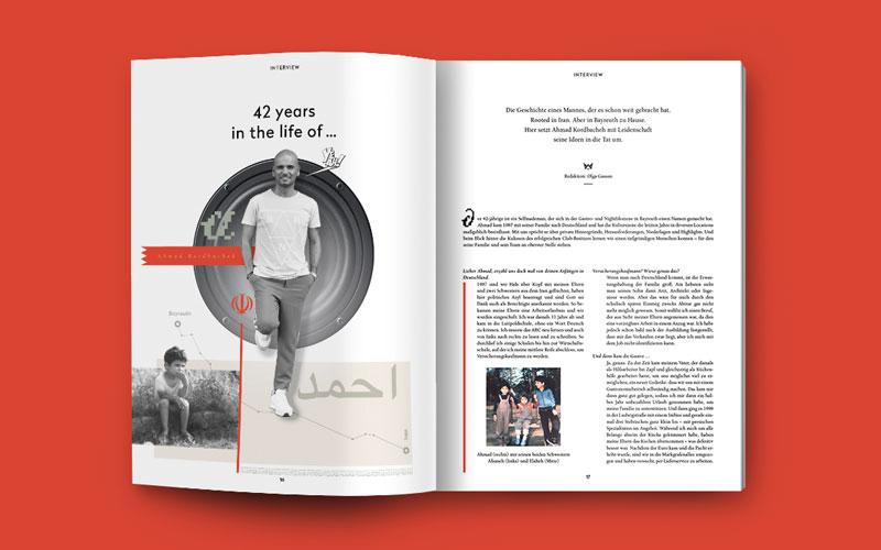 OPUS Marketing / Blog / Wilhelmine Magazin / Ahmad Kordbacheh / Fabrik Bayreuth