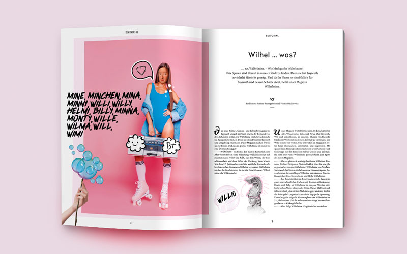 OPUS Marketing / Blog / Wilhelmine Magazin / Namensherkunft