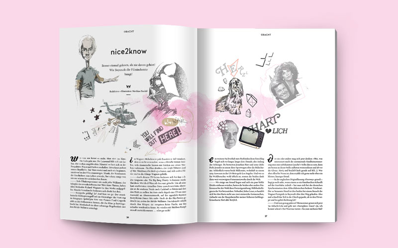 OPUS Marketing / Blog / Wilhelmine Magazin / nice2know