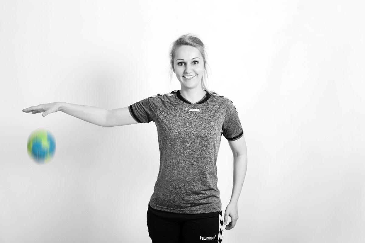 OPUS Marketing / Blog / Mitarbeitervorstellung / Theresa Raimund / Handballerin